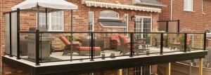 Continuous handrail design