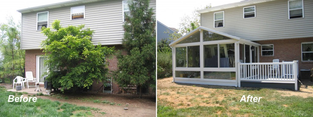 backyard improvement