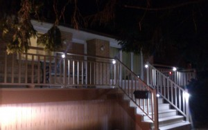 Railing Lights for your porch