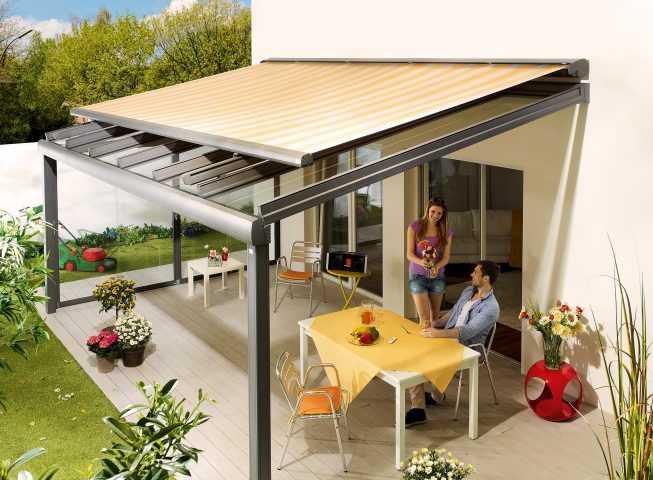 Retractable Tension Shade