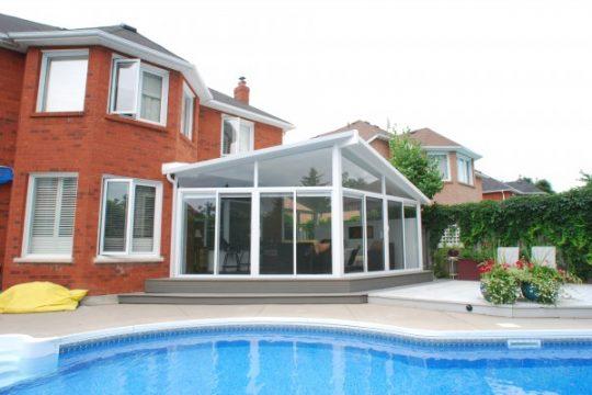 3 Season Sunroom with Pool
