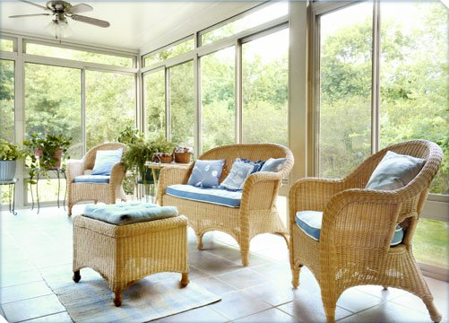inside view of betterliving all season sunroom