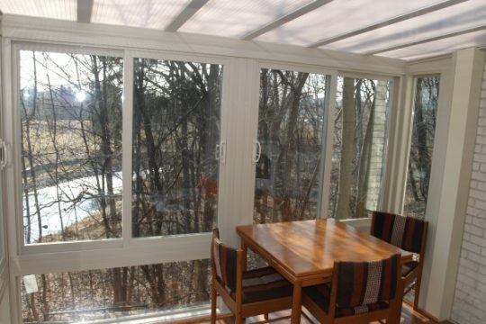 skyview roof system with all season sunroom