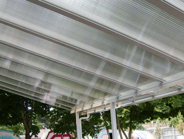 Translucent Patio Cover