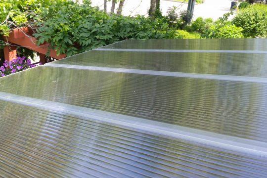 Translucent roof DIY