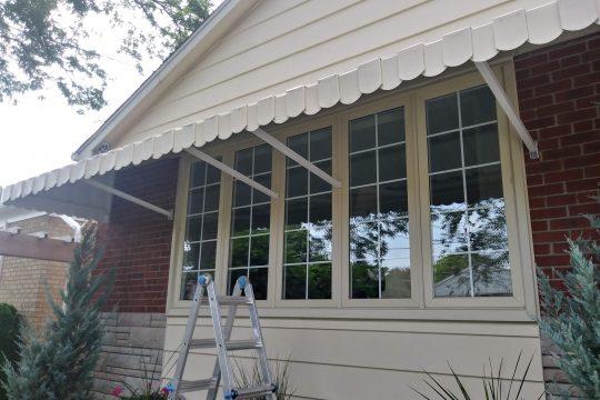 Aluminum Metal Awning Porch