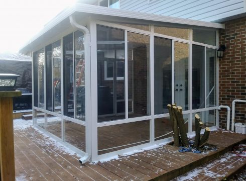 Grand Vista 3 Season Sunroom All Glass