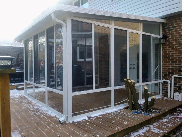 Grand Vista 3 Season Sunroom All Glass