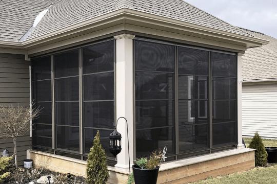4 Track Window Enclosure