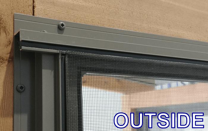 4 track stacking Windows Flange