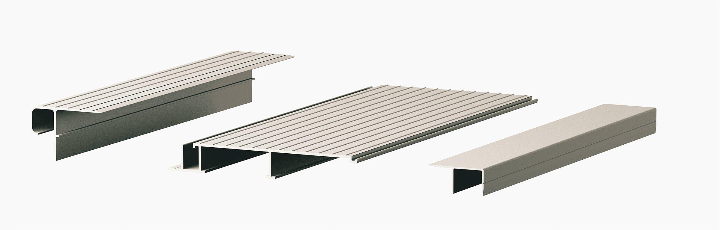 Aluminum Decking Board Profile-3