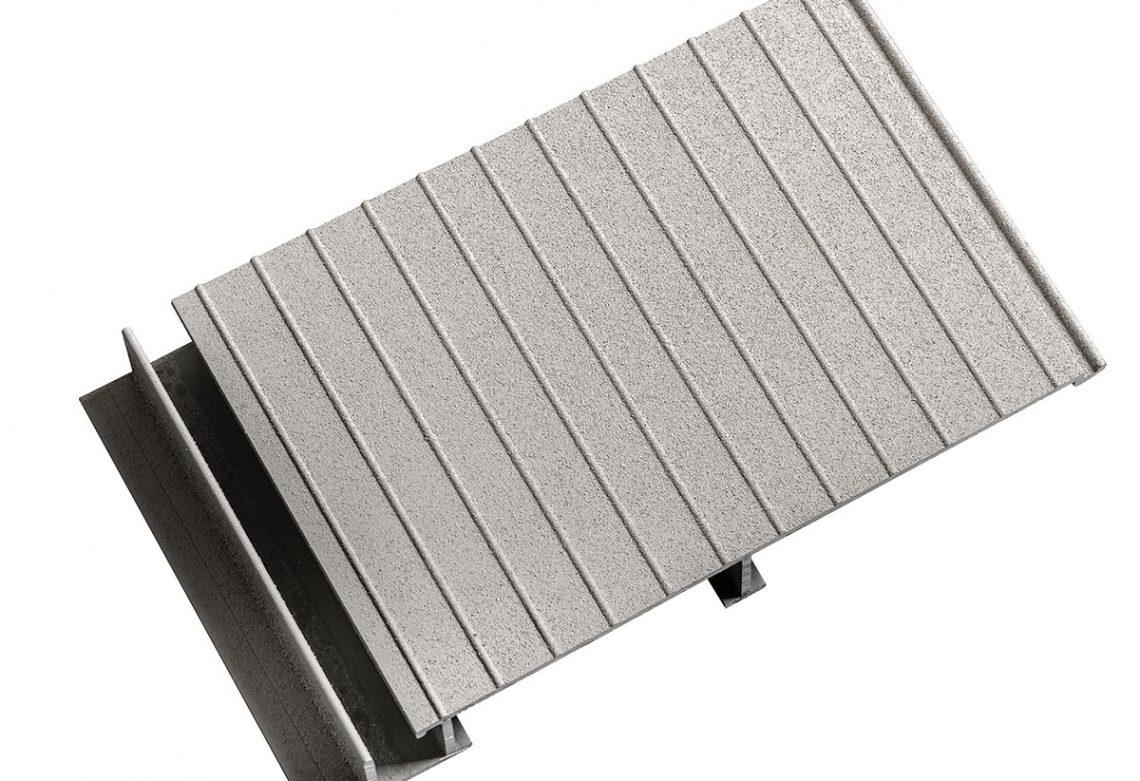 Aluminum Deck Colour Grey