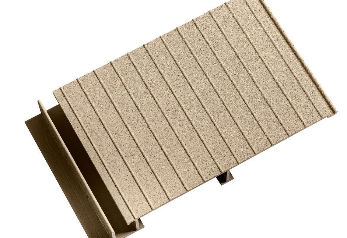 Aluminum Deck Colour Sand