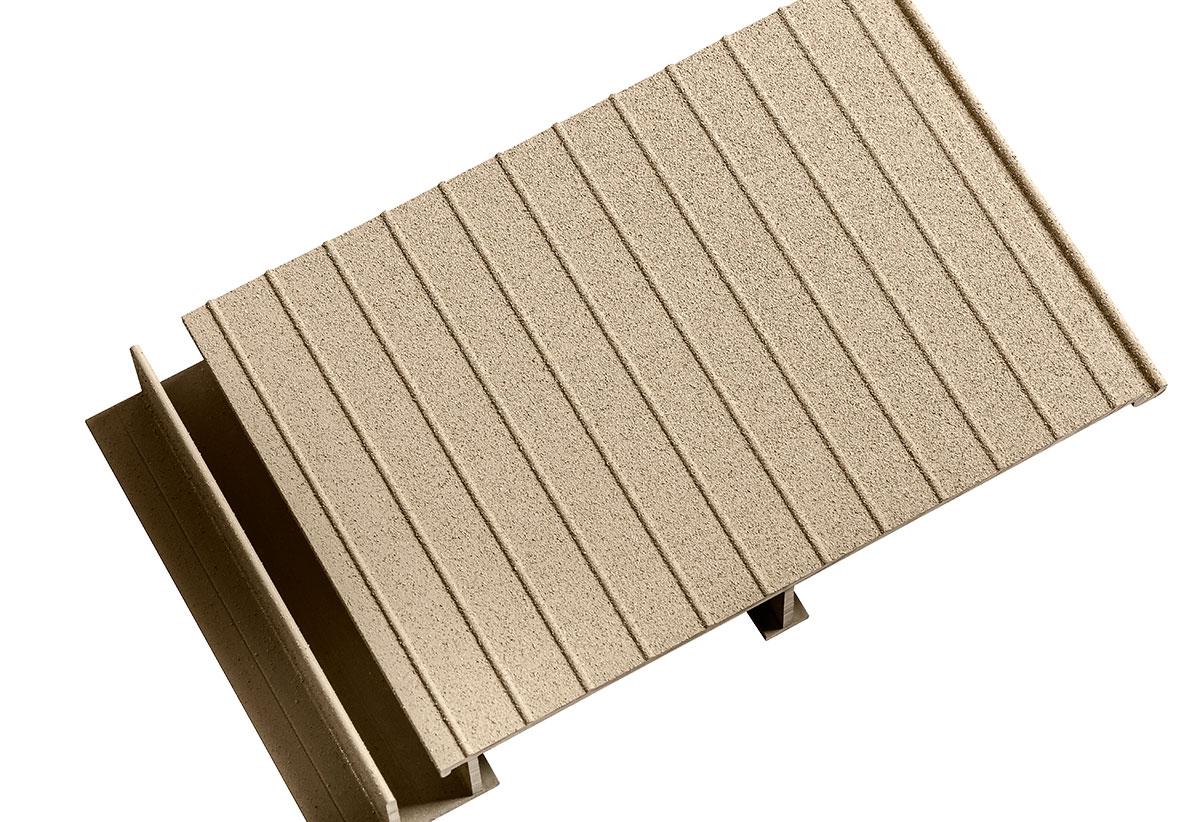 Sand decking