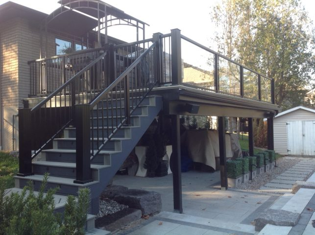 Aluminum Decking and Railing