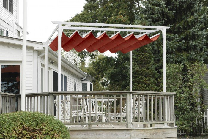 Stand alone Retractable Canopy - Patio Cover Optrion