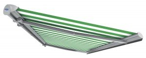 Retractable Fabric Awning Model 1 Semi Cassette