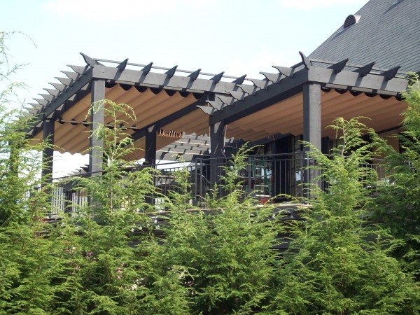 Retractable Canopy at Golf Course-2- Pergola Canopy