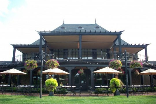 Retractable Canopy at Golf Course