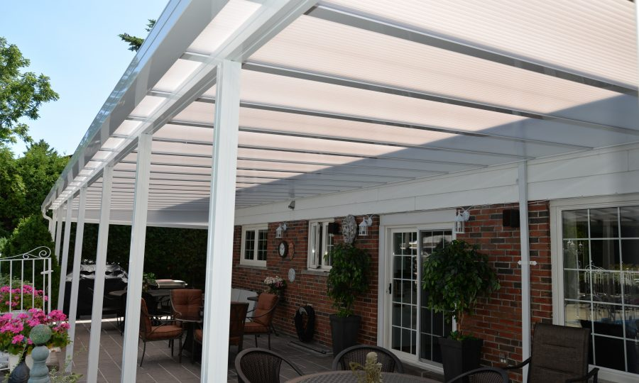 Translucent Patio Cover
