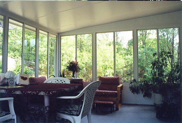 Grand Vista sunroom with Insulated Roof
