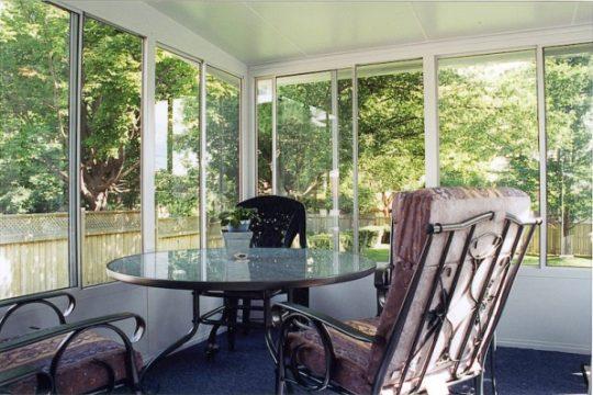 Grand Vista Sunroom with Patio Furniture