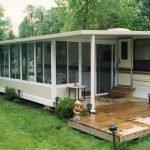 Sunroom for Trailer Park