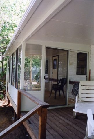 Enjoy Grand Vista sunroom in your cottage