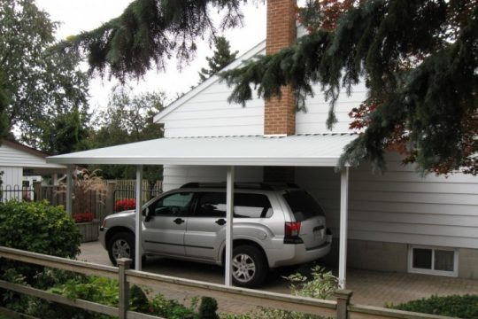 Craft-Bilt's Northlander Patio Cover for a carport