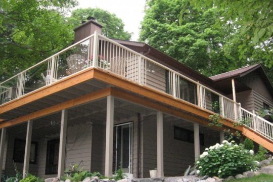 Aluminum Railing Cottage