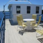 Aluminum decking on Cruise Boat