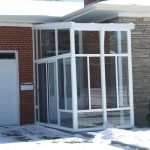 Porch Enclosure Grand Vista with Glass Roof Outview