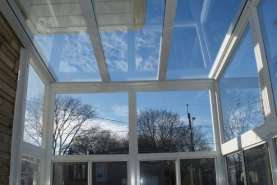 Porch Enclosure Grand Vista with Glass Roof