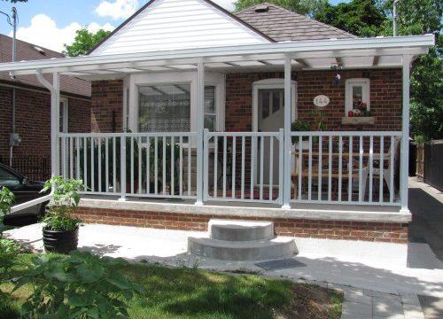 Aluminum Railing Gates Front Porch