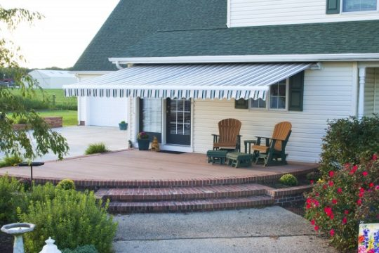 Retractable Awning Closed