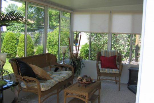 Grand Vista Sunroom Inside View