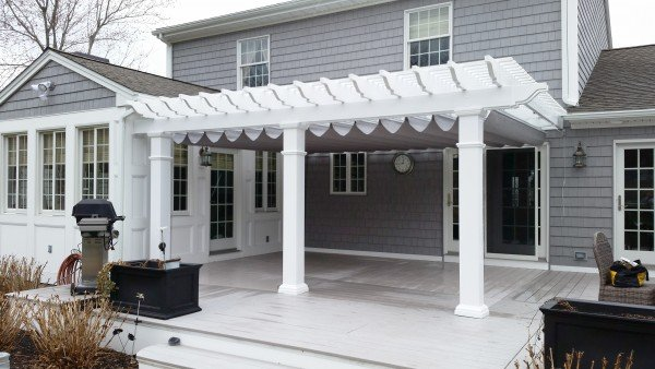 Retractable Canopy - Shade for Patio