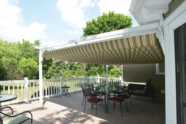 Retractable Fabric Canopy
