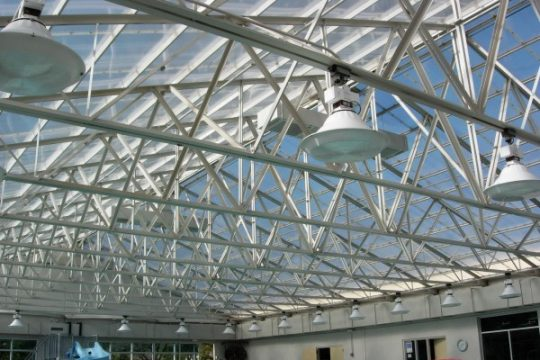 Polycarbonate Roof Over Pool