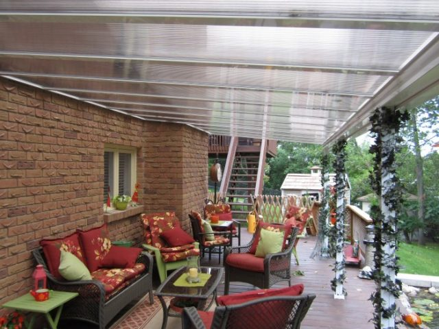 Clear Or Translucent Patio Covers And Sunroom Glazing | Polycarbonate Vs  Acrylic : Craft Bilt