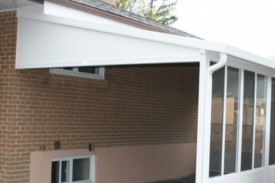 Carport with Walls Protection from Snow