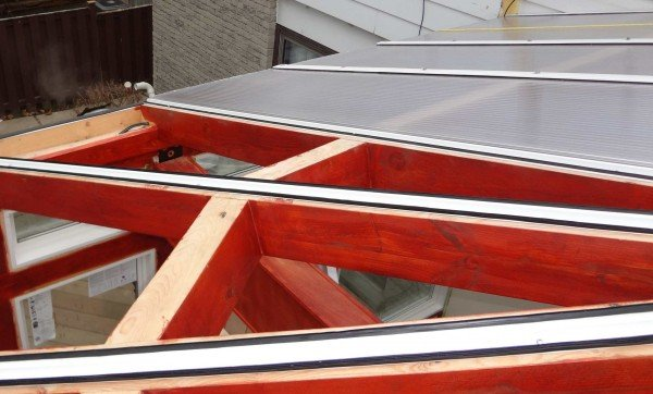 Clear Roof Installation