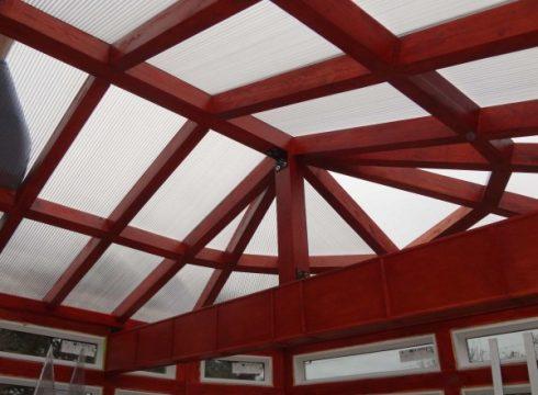 Translucent Roof on Solarium