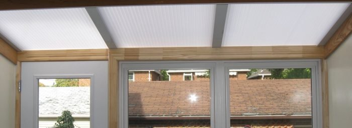 Re-glaze Solarium With Polycarbonate