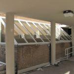 Custom Stairwell Canopy