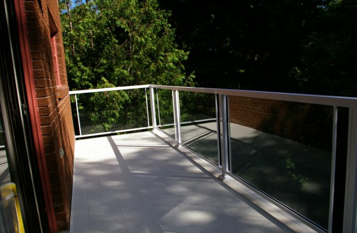 Aluminum waterproof deck balcony