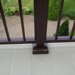 Aluminum Railing with Waterproof Decking