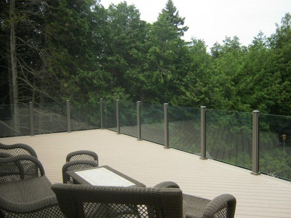 Topless Glass Railing Frameless Glass Railing Made By