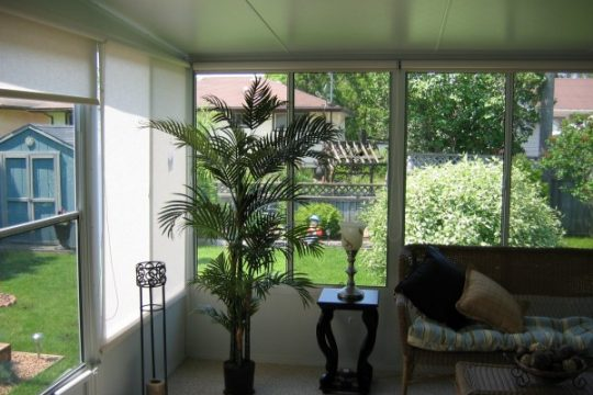 Sunroom Inside View