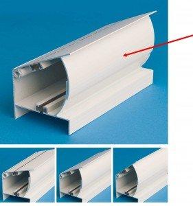 Sunroom Adjustable Header section